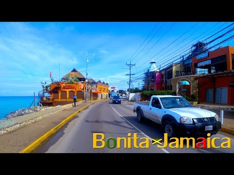 Montego Bay Hip Strip Drive Thru To Airport