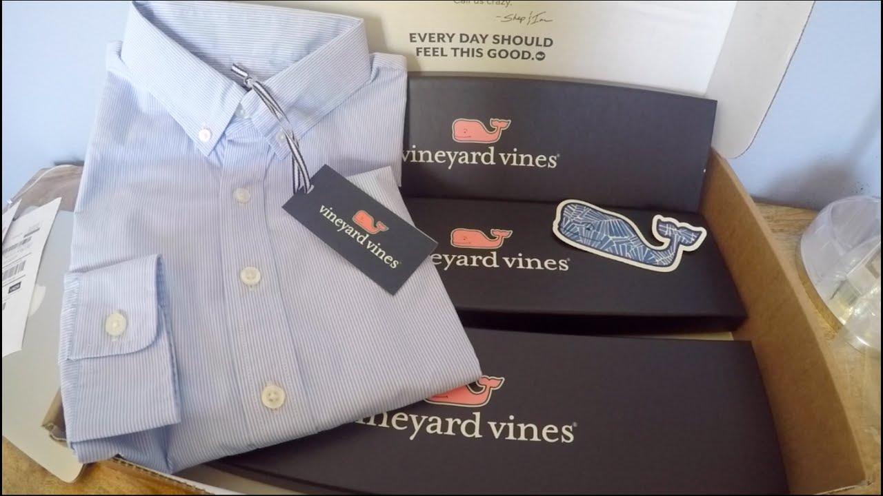 Vineyard Vines Ties Unboxing