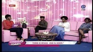 PAROLES DE FEMMES (FEMME DE MÉNAGE:ANGE OU DÉMON) EQUINOXE TV DU 10 AVRIL 2018