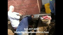 Water Damage Repair Laguna Beach CA 949-237-4299 Discount Prices