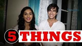 Nikita Dutta And Mohsin Khan Talking About Each Other