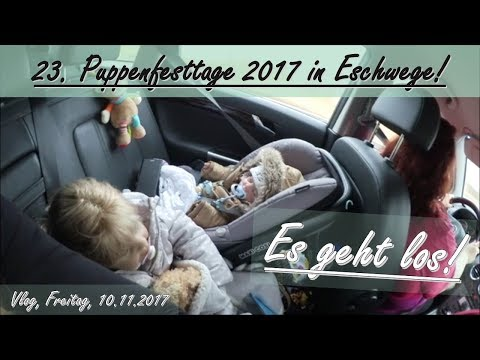 ES GEHT LOS! || Puppenfesttage 2017 in Eschwege! || Reborn Baby Deutsch || Little Reborn Nursery