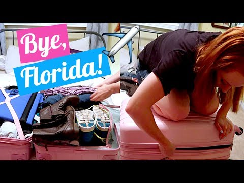 Packing for Summer Camp!   Last Day in Florida
