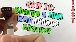 How to Charge a Juul Without a Charger (Using an iPhone Charger)