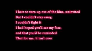 Someone Like You - Adele (Lyrics) Studio Version [HD]