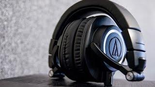 видео Наушники Audio-Technica ATH-M50X