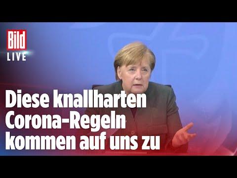 🔴 Lockdown in Deutschland: Das sind die neuen knallharten Corona-Regeln | BILD Live Spezial