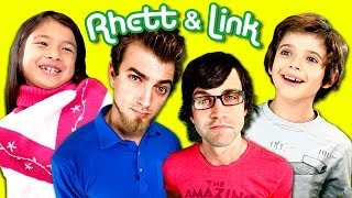 Kids React To Rhett and Link!