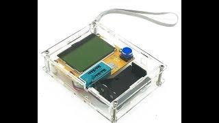 Обзор прибора ESR Meter MOS/PNP/NPN L/C/R Помощник для начинающего и не только.