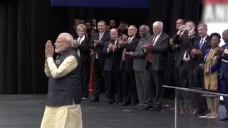 Howdy Modi: Cheers, chants greet PM as he arrives for mega Houston event