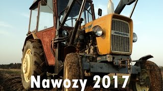 Nawozy 2017  || Ursus 3512, Ursus C-330 + Tur Wol-Met, Rozsiewacz Abra ||