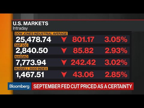 Bloomberg Market Wrap 8/14: S&P 500 DMA, Yield Curve Inversion