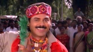 Kottandayya Babu  Song || Pokiri Raja Movie || Venkatesh, Pratibha Sinha, Roja