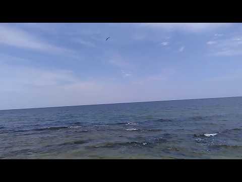 #1 Мальдивы в Дагестане, июль 2018   Пляж у базы отдыха Терек   Каспийское море