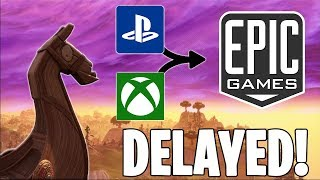 MERGING EPIC GAMES ACCOUNTS DELAY!! | MERGING FORTNITE SKINS AND STATS COMING 2019!