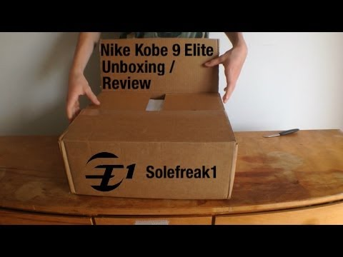 "nike-kobe-9-elite-""gold""-unboxing-/-review"