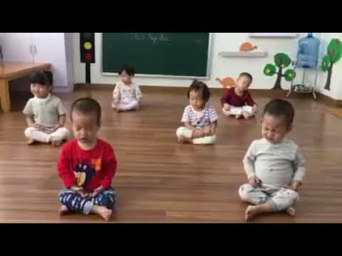Training Little children to meditation