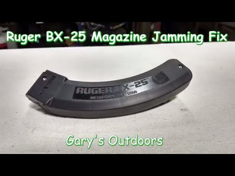 Ruger BX-25 Magzine Jam Fix for Ruger 10-22 Rifle Ep.2018-05