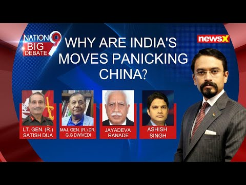 Why Are India's Moves Panicking China?   NewsX