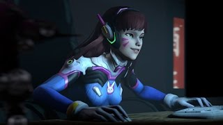 D.VA Playing as D.VA (Overwatch SFM)