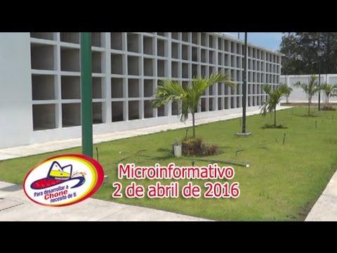 Microinformativo 2 abril 2016