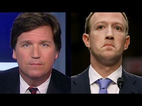 JUST IN: Tucker Carlson REACTS to Mark Zuckerberg's [Facebook] Capital Hill Testimony