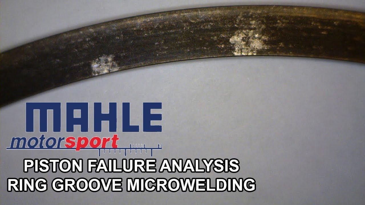 Piston Failure Analysis-Ring Groove Microwelding