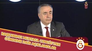 BAŞKANIMIZ MUSTAFA CENGİZ'DEN GÜNDEME DAİR BASIN AÇIKLAMASI - Galatasaray