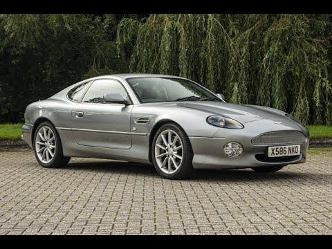 Lot No 601 2000 Aston Martin Db7 V12 Vantage Manual Youtube