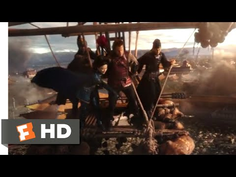 The Great Wall (2017) - Balloon Attack Scene (8/10) | Movieclips