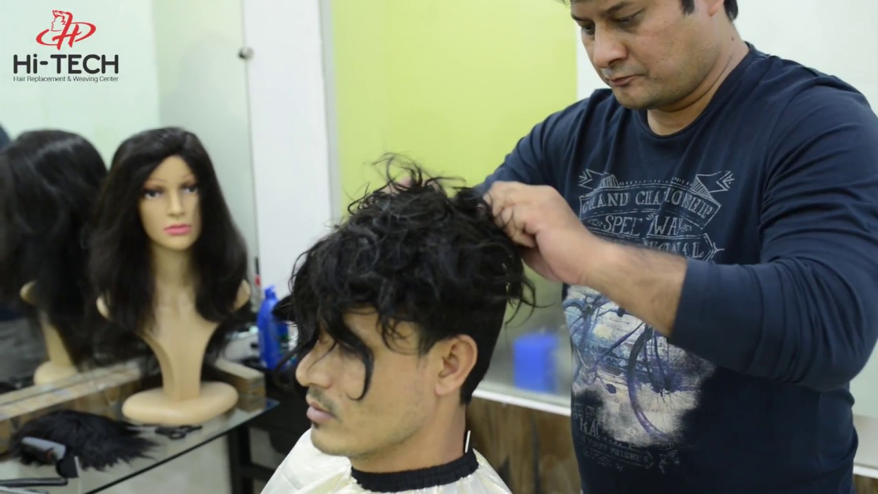 Hi Tech Hair Replacement And Hair Weaving Hair Fitting Short Video