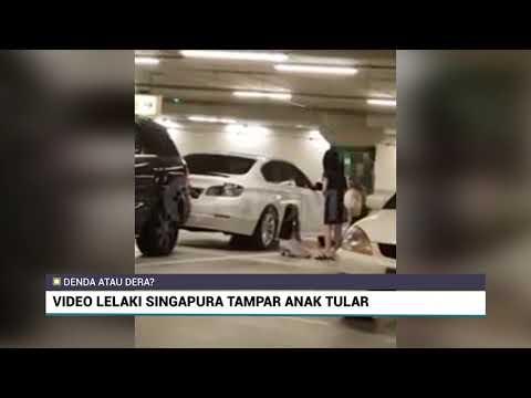 Viral.!! LelakiTampar Anak Ditempat Awam