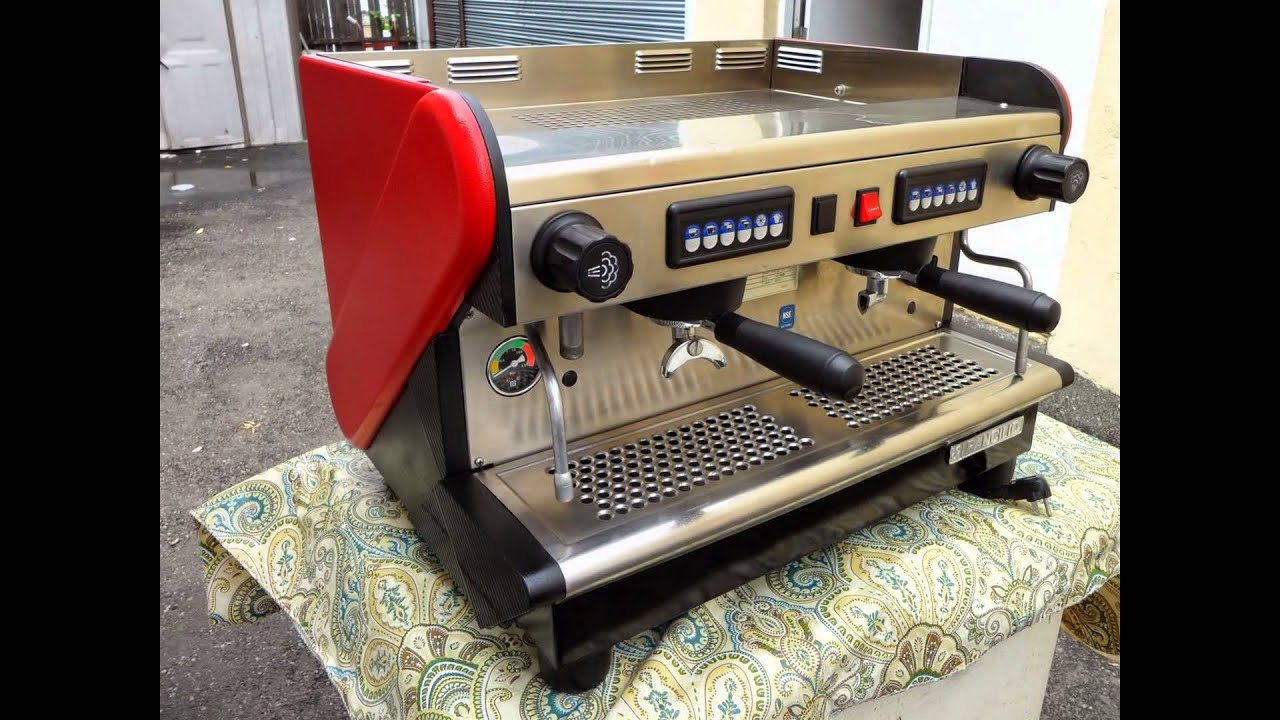 Rancilio Tecna De Electronic 2 Group Commercial Espresso