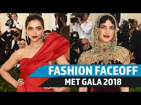MET Gala 2018: Fashion Faceoff  Deepika Padukone vs Priyanka Chopra  Pinkvilla