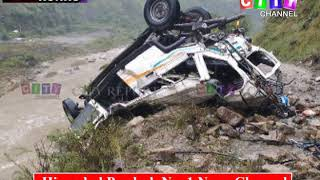 Shimla Jubbal Accident 22 Sept 2018