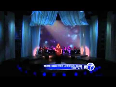 "Susan Boyle - Oprah winfrey show sings "" I was born to be"""
