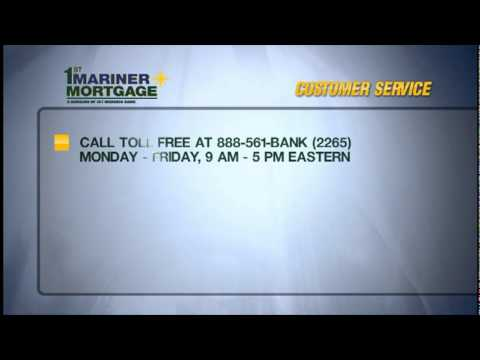 Customer Service - 1st Mariner Mortgage