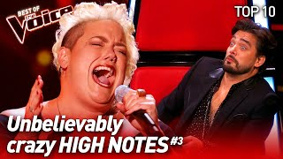 SHOCKING High Notes on The Voice #3   Top 10
