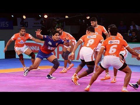 Pro Kabaddi 2018 Highlights   Dabang Delhi Vs Puneri Paltan   Hindi
