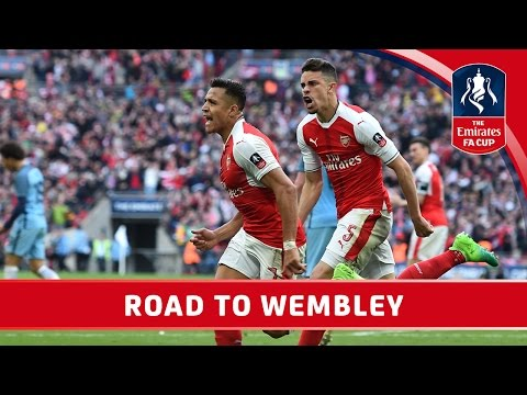 Arsenal's Road to Wembley  2017 Emirates FA Cup Final