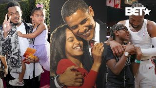 Why Barack Obama, Dwayne Wade, Chance The Rapper & More Are Great Girl Dads!
