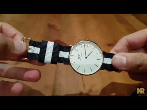 Daniel wellington Strap Change