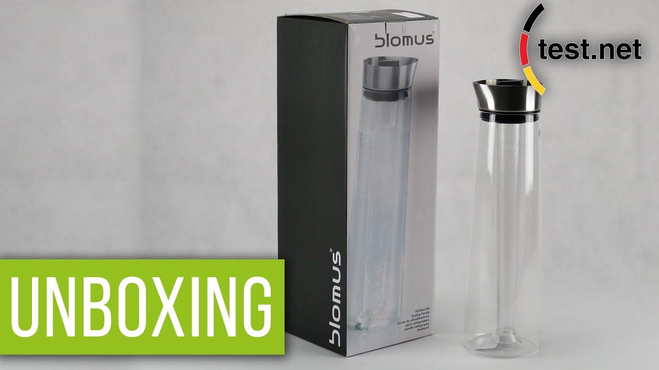 Blomus Wasserkaraffe blomus kühlkaraffe glas 1200 ml aqua cool test