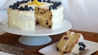 Dessert Recipe: Lemon Blueberry Layer Cake By Cookingforbimbos.com
