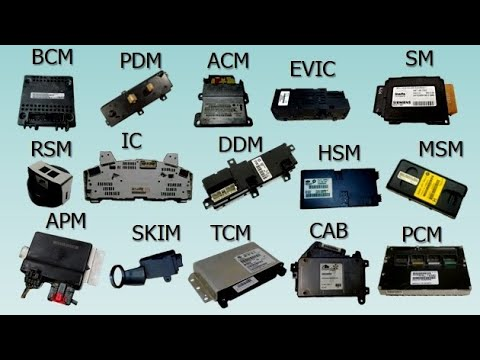 Automotive Electronic Modules Types