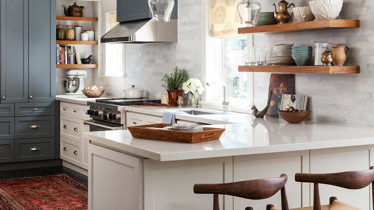 interior design galley kitchen makeover youtube on kitchen design remodeling ideas better homes gardens id=33122