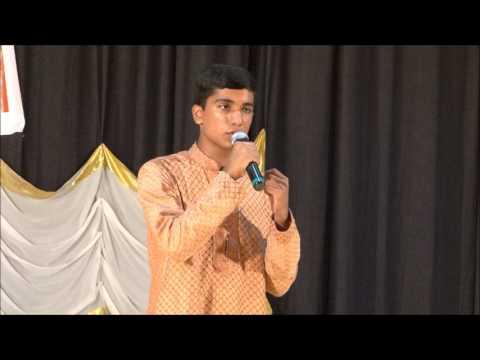 Irulin Mahanidrayil - Kavitha recitation by Akash Ravindran