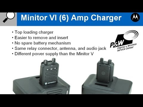 motorola minitor vi 6 amplified charger youtube rh youtube com Motorola Minitor V Minitor V Alert Tones