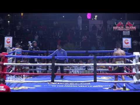 Jorge Moreno VS Daniel Díaz - Bufalo Boxing