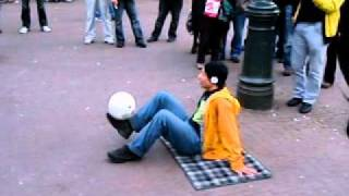 "Amazing soccer juggling with Abdellah music by Apaulo Treed & Subverses ""HI Liphe"""